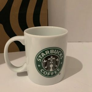 Starbucks White&Green Logo Expresso Coffee Mug